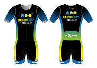 Bunbury Short Sleeve Tri Suit