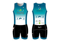 DRC Women's Short Sleeve Tri Suit