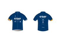 G'DAY Short Sleeve Cycling Jersey