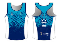 Crank Up Women's Racerback Tri Singlet