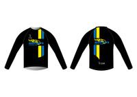 Meteors Long Sleeve Running Shirt