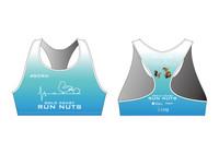 GCRN Women's Racer back Sports Bra