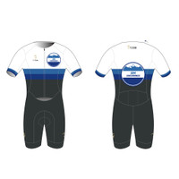 SME Freedom Short Sleeve Tri Suit - Charcoal