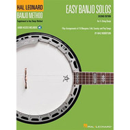 Easy Banjo Solos for 5-String Banjo: Hal Leonard Banjo Method