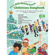 Alfred's Kid's Ukulele Course Christmas Songbook 1 & 2: 15 Fun Arrangements T..