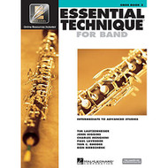 Essential Technique for Band - Intermediate to Advanced Studies: Oboe (Essent..