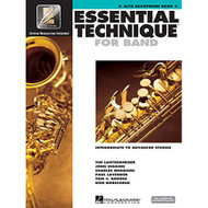 Essential Technique for Band - Intermediate to Advanced Studies: Eb Alto Saxo..