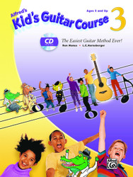 Alfred's Kid's Guitar Course 3: The Easiest Guitar Method Ever!, Book & Enhan..