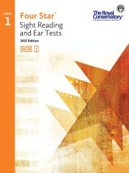 4S01 - Royal Conservatory Four Star Sight Reading and Ear Tests Level Level 1..