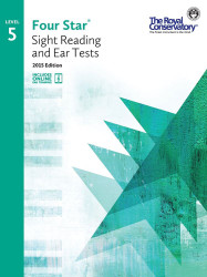 4S05 - Royal Conservatory Four Star Sight Reading and Ear Tests Level 5 Book ..