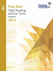 4S09 - Royal Conservatory Four Star Sight Reading and Ear Tests Level 9 Book ..