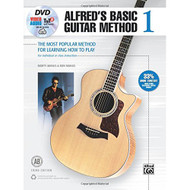 Alfred's Basic Guitar Method, Bk 1: The Most Popular Method for Learning How ..