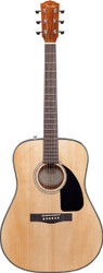 Fender® DG8S Dreadnought Acoustic Guitar Package - Natural