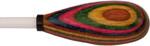 King David 14-Inch White Tip Pear Rainbow Handle (14WPRN)