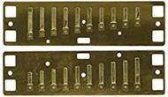 Lee Oskar Major Diatonic - Reedplates C (1910RPC)