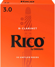 Rico Bb Clarinet Reeds 10-Pack #3.0 (2B3)