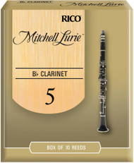 Mitchell Lurie Bb Clarinet Reeds 5.0 10-pack