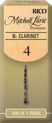 Mitchell Lurie Premium Bb Clarinet Reeds 4.0 5-pack