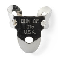 Dunlop Fingerpicks Nickel Silver .015mm 20-Pack (33R15) Front View