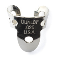 Dunlop Fingerpicks Nickel Silver .025mm 20-Pack (33R25) Front View