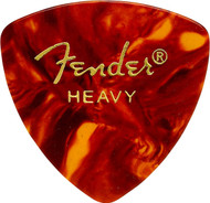 Fender 346 Classic Celluloid Guitar Picks 72-Pack - Shell - Heavy (346HS)