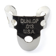 Dunlop Fingerpicks Nickel Silver .013mm 50-Pack (34R13) Front View