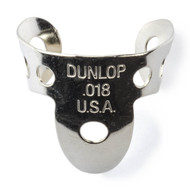 Dunlop Fingerpicks Nickel Silver .018mm 50-Pack (34R18) Front View