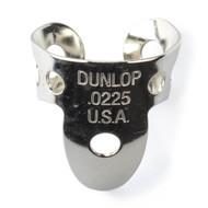 Dunlop Fingerpicks Nickel Silver .0225mm 50-Pack (34R22) Front View
