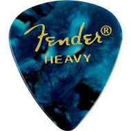 Fender® 351 Shape Premium 12-Pack Blue Moto Medium
