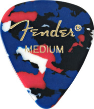 Fender® 351 Shape Classic 12-Pack Confetti Medium