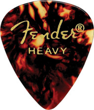 Fender 351 Classic Celluloid Guitar Picks 144-Pack - Shell - Heavy (351HS)