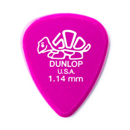 Dunlop Delrin 500 1.14mm 72-Pack (41R114) Front View