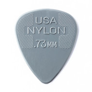 Dunlop Nylon 0.73mm 12-Pack (44P73) Front View