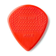 Dunlop Max Grip® Jazz III Nylon 6-Pack (471P3N) Front View