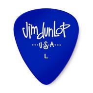 Dunlop Gels™ Guitar Pick Blue Light 12-Pack (486PLT) Front View