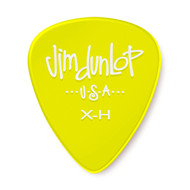 Dunlop Gels™ Guitar Pick Yellow Extra Heavy 12-Pack (486PXH) Front View