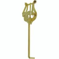 American Plating Lyre Trumpet Bent Gold (501G)