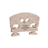 Aubert Teller Violin Bridge 1/2 Semi Fitted