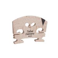 Aubert 9142-34 Teller Germany V Insert Semi Fitted Violin Bridge