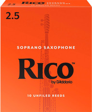 Rico Soprano Sax Reeds 10-Pack 2.5 (5B2.5)