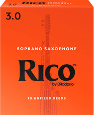 Rico Soprano Sax Reeds 10-Pack 3.0 (5B3)