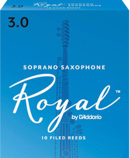 Rico Royal Reeds Soprano Sax 10-Pack 3.0 (5R3)