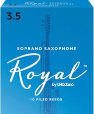 Rico Royal Reeds Soprano Sax 10-Pack 3.5 (5R3.5)