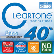 Cleartone Nickel-Plated Bass 40-100 Light
