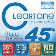 Cleartone Nickel-Plated Bass45-105 Medium (6445)