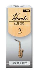 Hemke Alto Sax Reeds, Strength 2.0, 5-pack