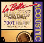 LaBella Silver-Plated 09-27 Tenor (700T)