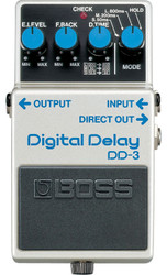 Boss Delay Effect Pedal