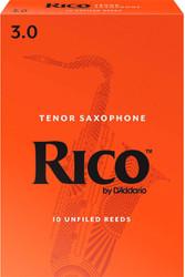 Rico Tenor Sax Reeds 10-Pack 3.0 (7B3)
