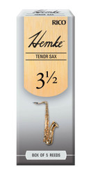 Hemke Tenor Sax Reeds, Strength 3.5, 5-pack